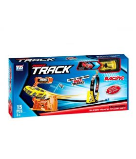 TLD SUPER TRACK RACING - TRACK CAR SET 68819