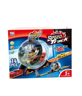 TLD SPEED TRACK 14PC - POWER RACING SET 68835