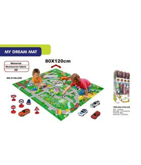 KIDS PLAY MAT - VARIOUS DESIGNS - BOX OF 12