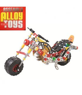 DIY ASSEMBLY ALLOY TOYS SERIES - MOTORCYCLE 257PCS