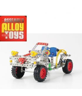 DIY ASSEMBLY ALLOY TOYS SERIES - JEEP TRUCK 355PCS