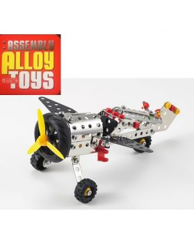 DIY ASSEMBLY ALLOY TOYS SERIES - FIGHTER PLANE