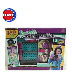 REMOVABLE KNITTING MACHINE SET