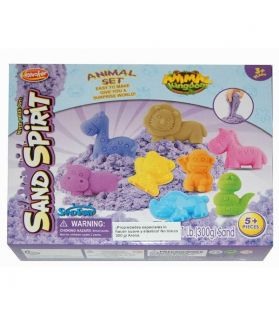 SAND SPIRIT SERIES - KINETIC SAND 300G ANIMAL - 10 PACK PDQ