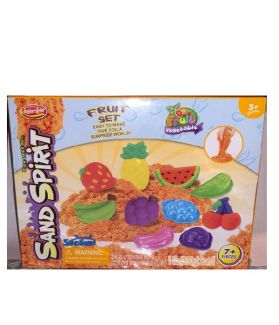 SAND SPIRIT SERIES - KINETIC SAND 300G FRUIT & VEG - 10 PACK PDQ